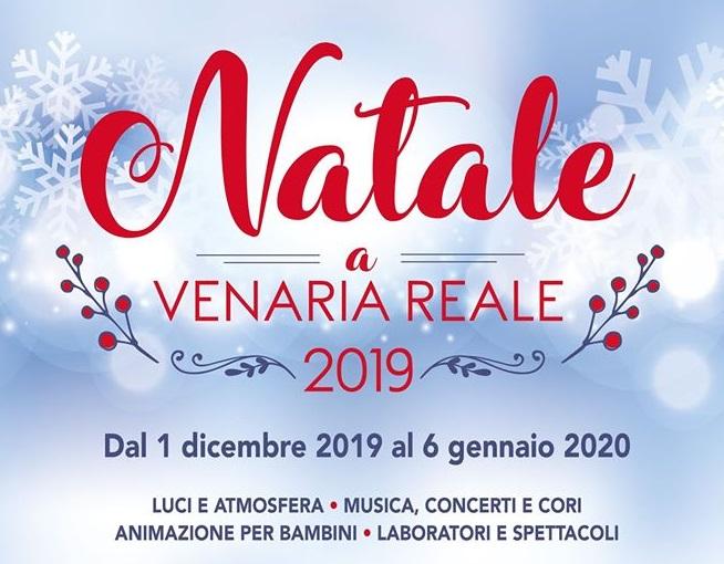 Natale a Venaria Reale 2019